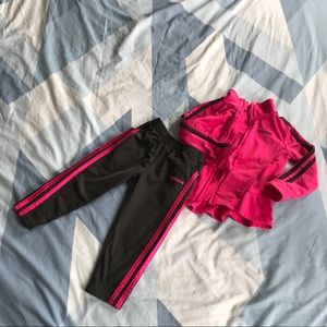 💕🖤💕 adorable toddler adidas tracksuit 💕🖤💕